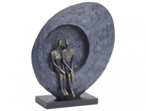 Ayrton Love Abstract Sculpture 33 cm