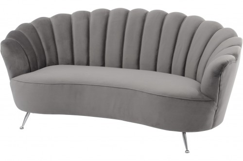 Sofa Eaton Velvet Grey